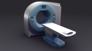 3d model ct scan machine
