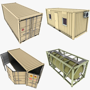max military containers