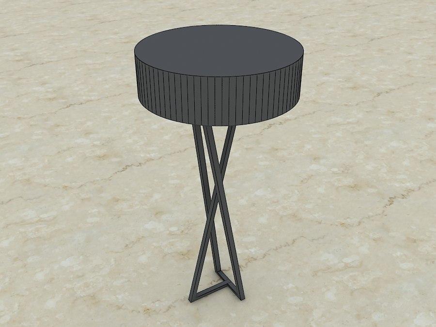 floor lamp obj