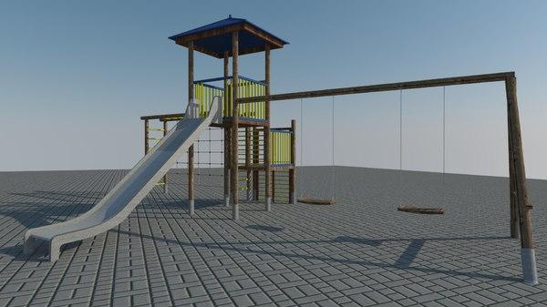 3d 3ds children s slide