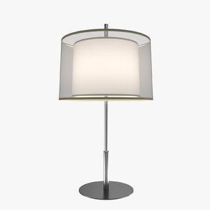 3d table lamp modern -