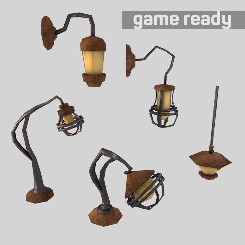 3d lamp pack lighting