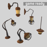 3d lamp pack lighting