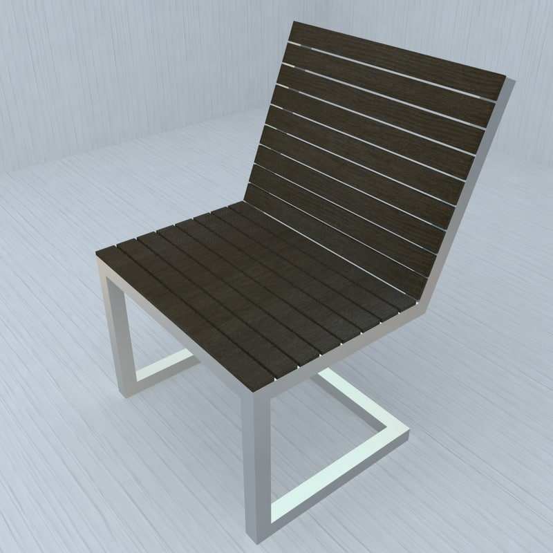 seat living room 3d max