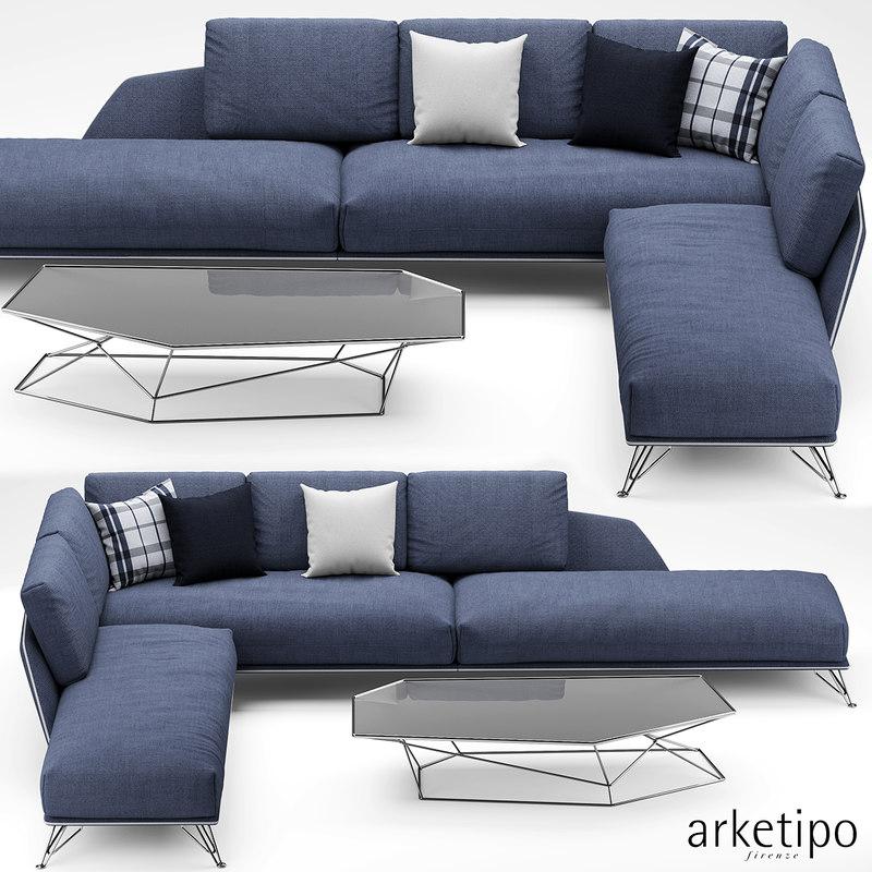 max arketipo morrison sofa