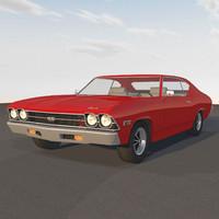 c4d chevelle 1969