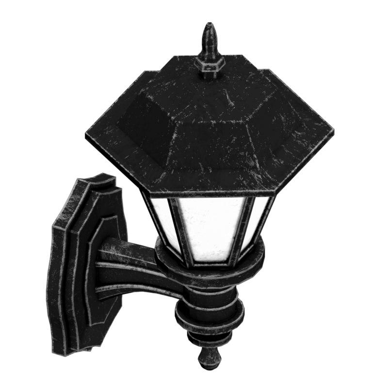 3d wall lantern