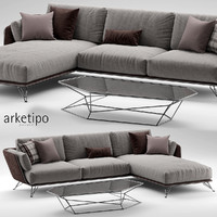 arketipo morrison sofa max