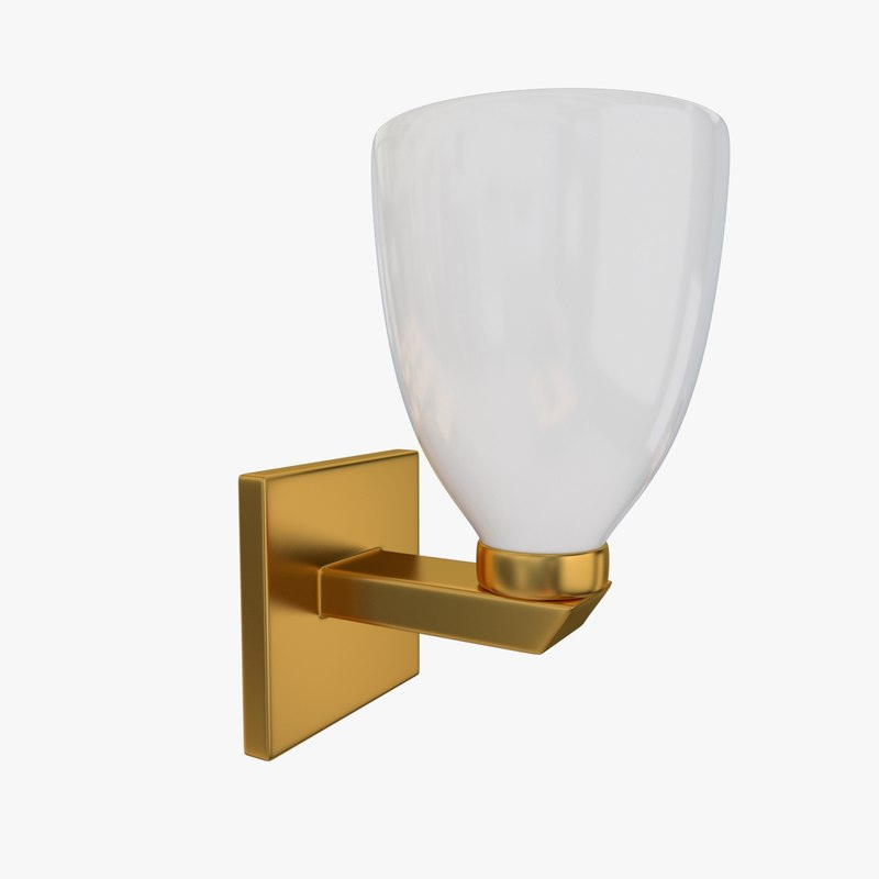 wall lamp sconce 3d 3ds