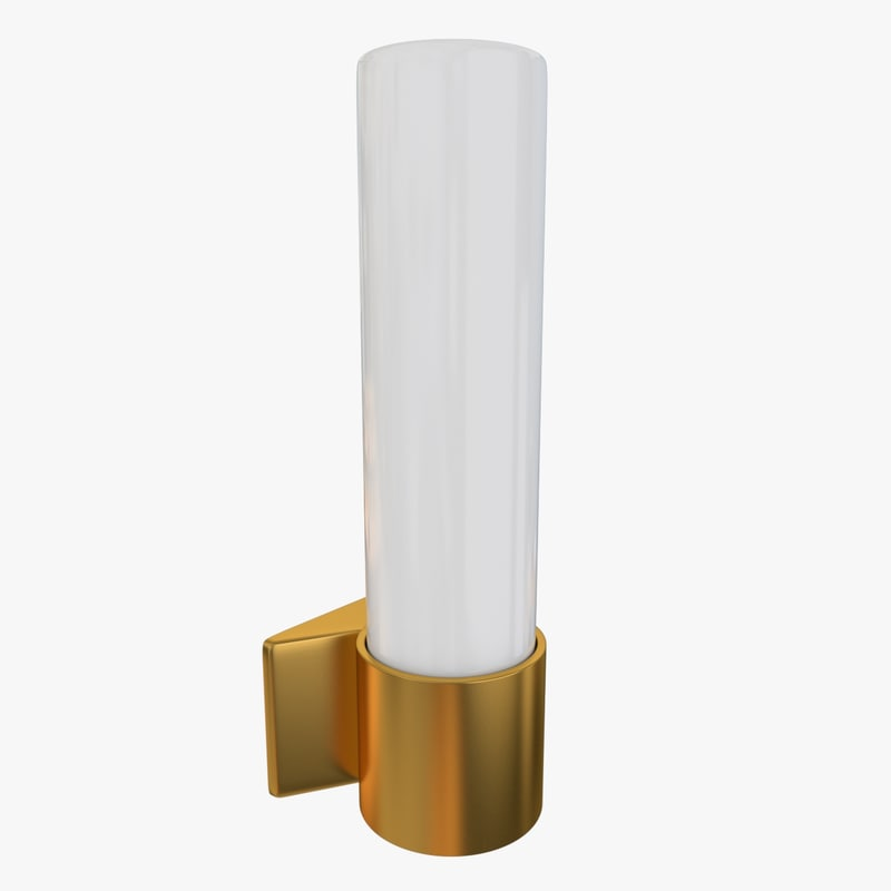 3d wall lamp sconce model