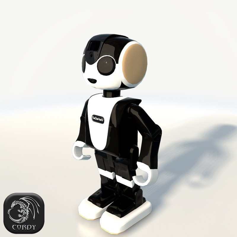 3d model robohon bot