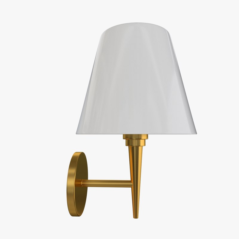 3ds wall lamp sconce