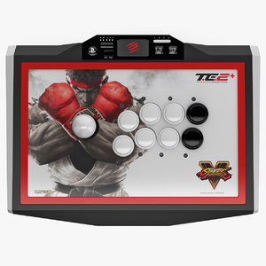 3d model mad catz street fighter