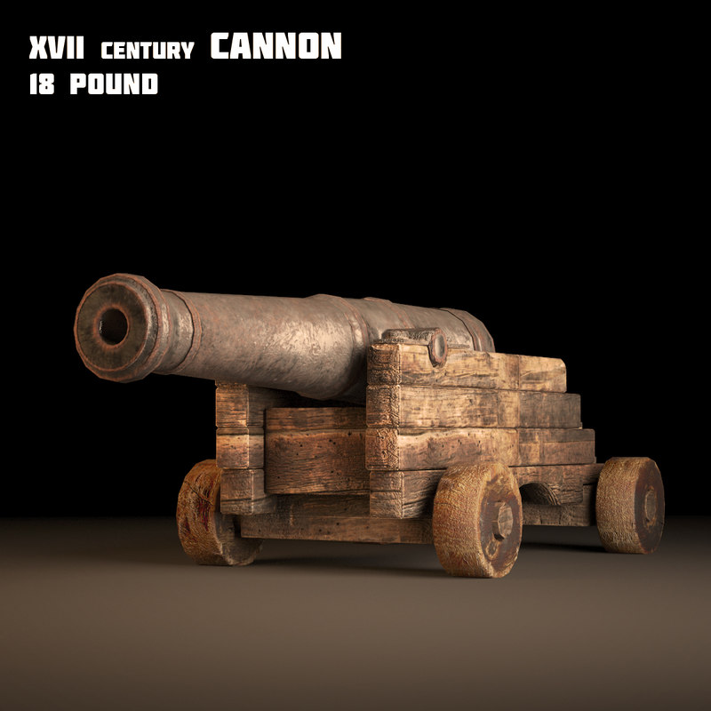 old cannon 3d max