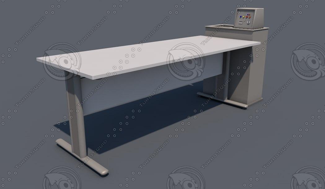 3d c4d lab table