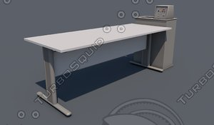 3d c4d lab table