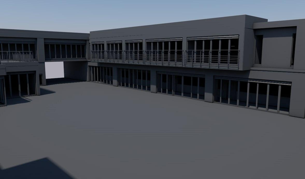 school 3d model