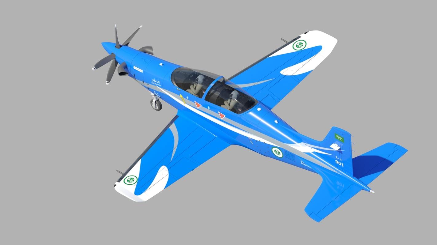 3d pilatus pc-21