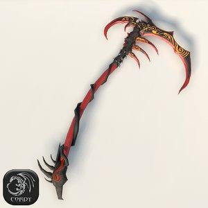 reaper s scythe 3ds