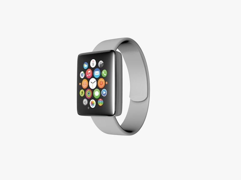 free smartwatch watch 3d model