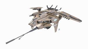 3d model jet jetfighter
