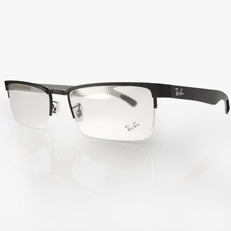 eyeglasses ban rb8412 3ds