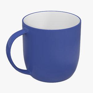 coffee mug 3d obj