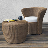 3d model of varaschin bolero easy chair