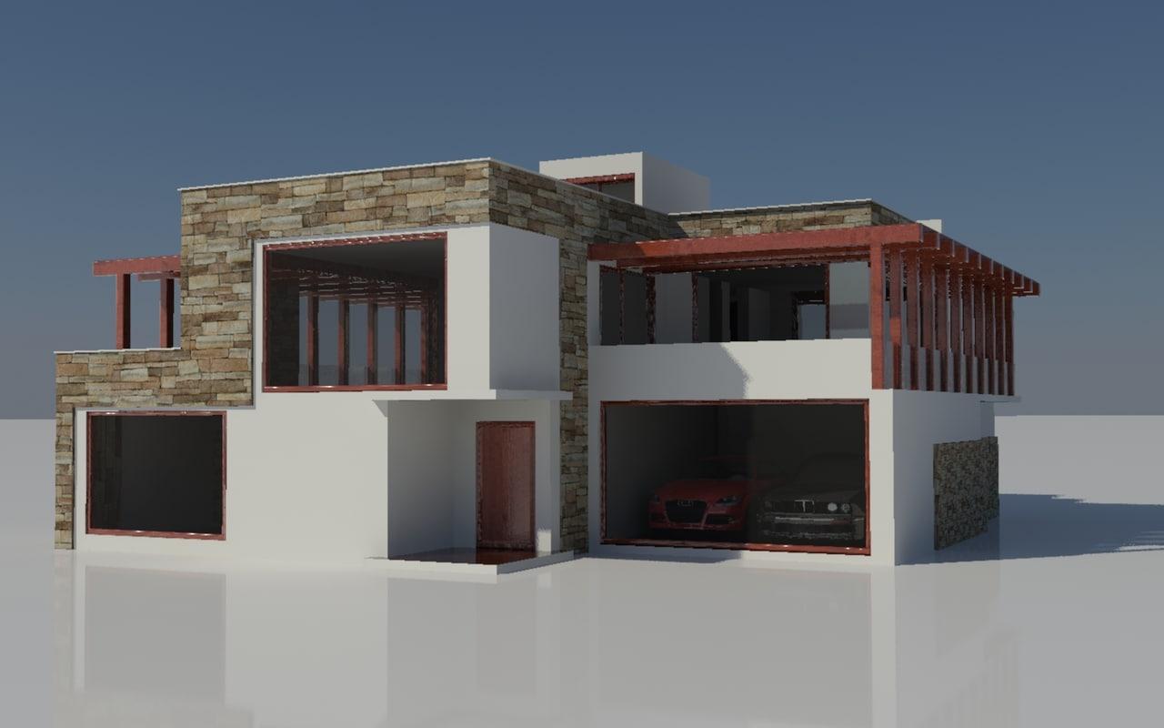 house mediterranean 3d model