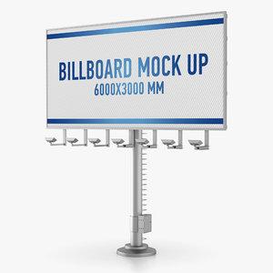 billboard advertising obj