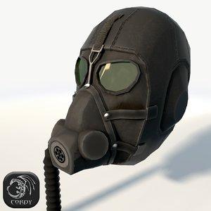 3d model gas mask
