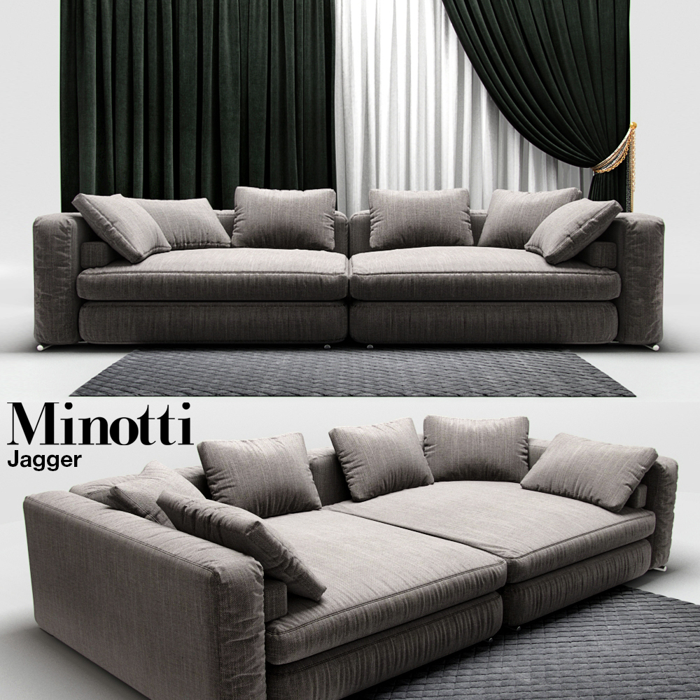 Admirable Sofa Minotti Jagger Caraccident5 Cool Chair Designs And Ideas Caraccident5Info