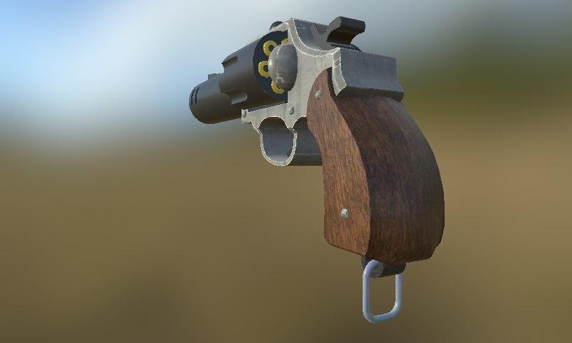 barrel double 3d model