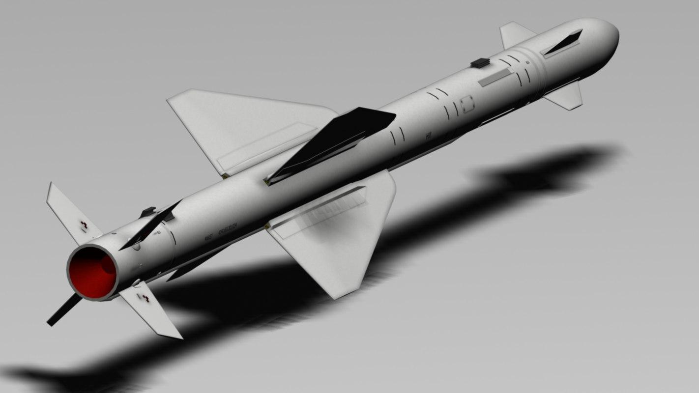 3d 3ds r-24r radar missile
