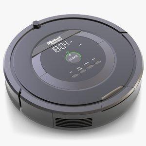 3d robot vacuum cleaner roomba
