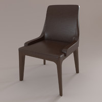 3d chair ulivi model