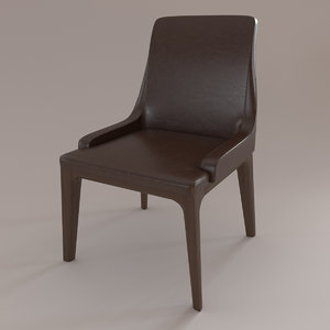 3d chair ulivi model