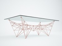 pylon coffee table 3d max