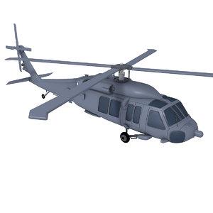 3d blackhawk skorsky model
