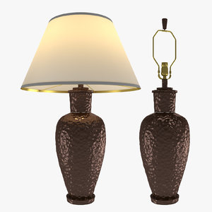 3d table lamp robert abbey