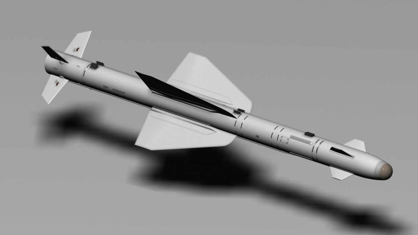 3d r-24t heat seeking model