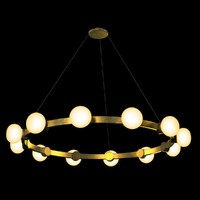 chandelier rich cinemas 3d model
