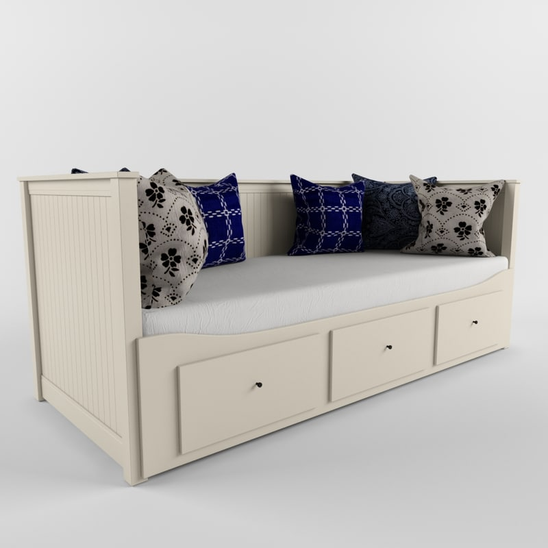 3d sofa bed ikea hemnes