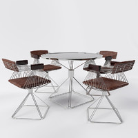 Dining Set by Rudi Verelst