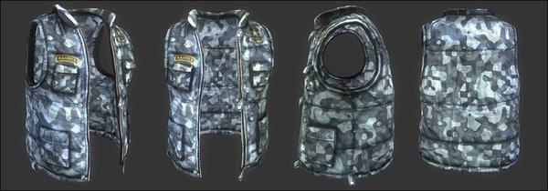 ranger jacket 3d model