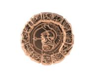 3d obj medal sagittarius