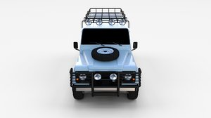 obj land rover defender 110