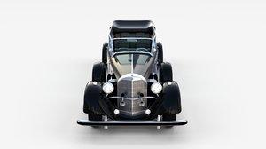 mercedes 770k 3d model