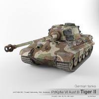 German tank PzKpfw VI Ausf B Tiger II '008'