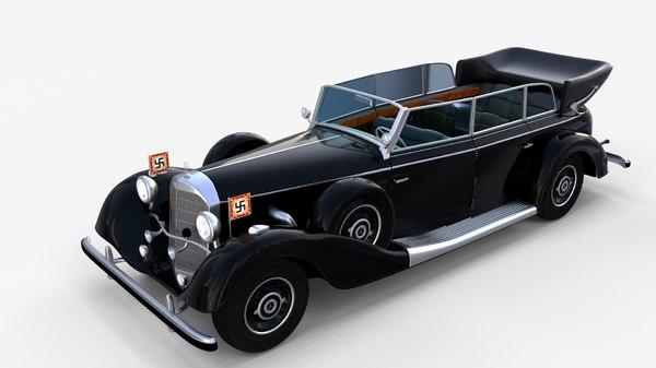 3d mercedes 770k model